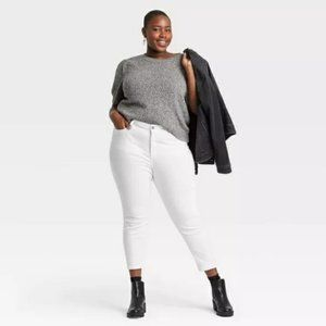 Universal Thread High Rise Skinny Crop Jeans 18